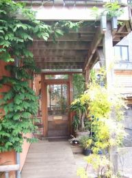 A Beautiful Doorway Within The Self Build The Yard Bright Green Futures