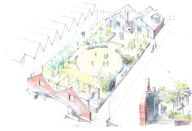 Bright Green Futures Ltd Water Lillies Architect Drawings Self Build Self Manage Drawing 01