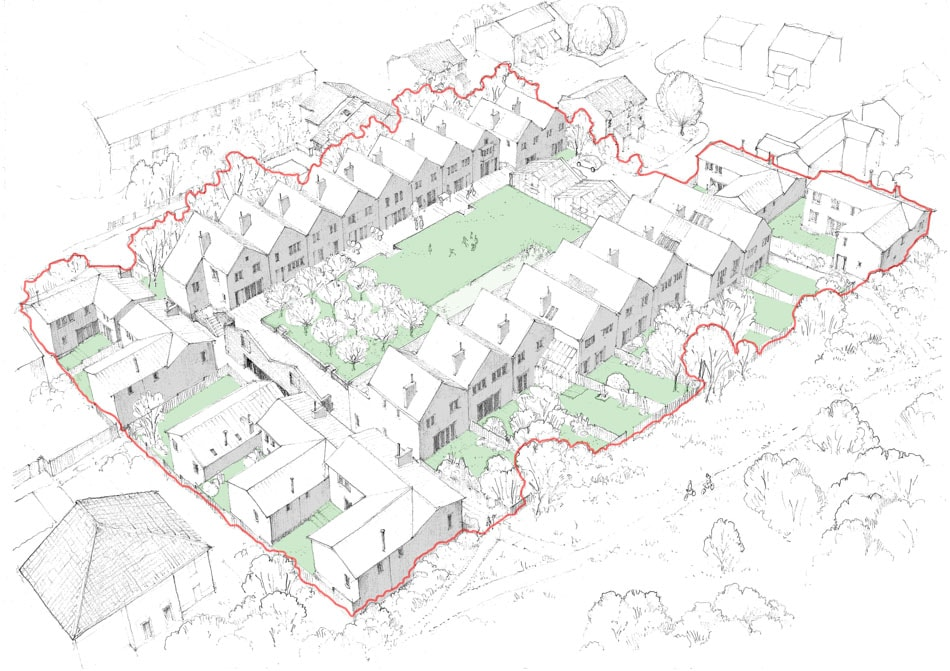 Bright Green Futures Ltd, Water Lillies Architect Drawings, Self-Build, Self-Manage, Drawing 02