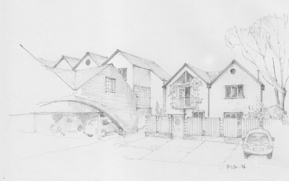 Bright Green Futures Ltd, Water Lillies Architect Drawings, Self-Build, Self-Manage, Drawing 03