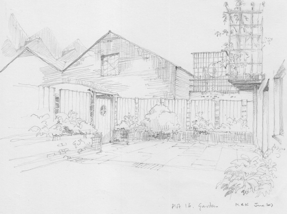 Bright Green Futures Ltd, Water Lillies Architect Drawings, Self-Build, Self-Manage, Drawing 04