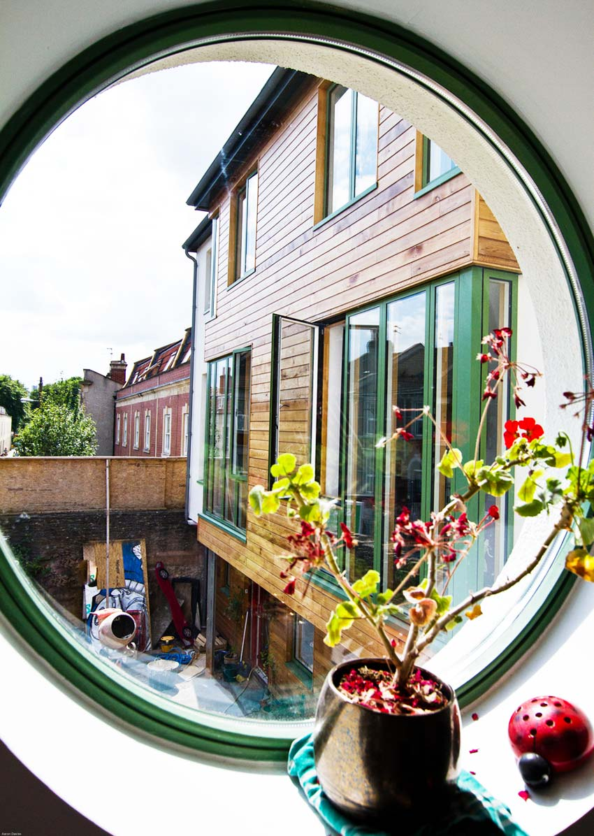 Michelle Asher's Circular Window View Bright Green Futures Case Study